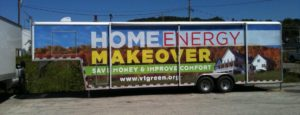 The Home Energy Makeover trailer will be open in Woodstock on November 12 from 12:00 until 3:00.